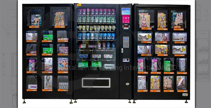 Combination Vending & Lockers