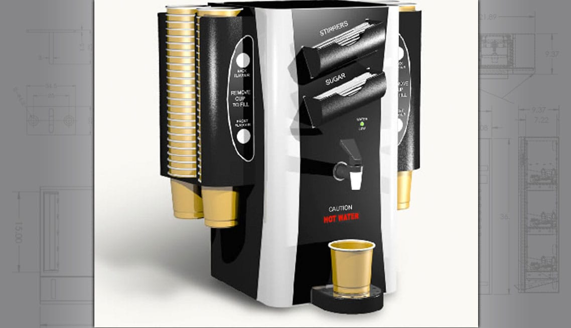 Custom Hot Drink Dispenser