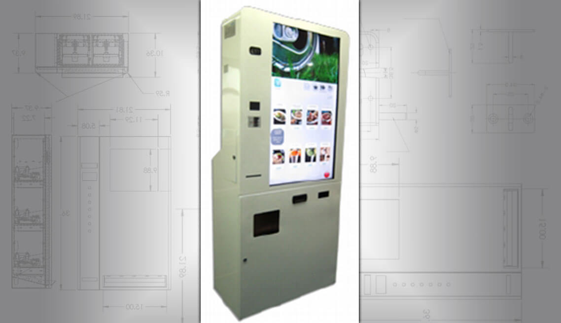 Food and Beverage Ordering Kiosk