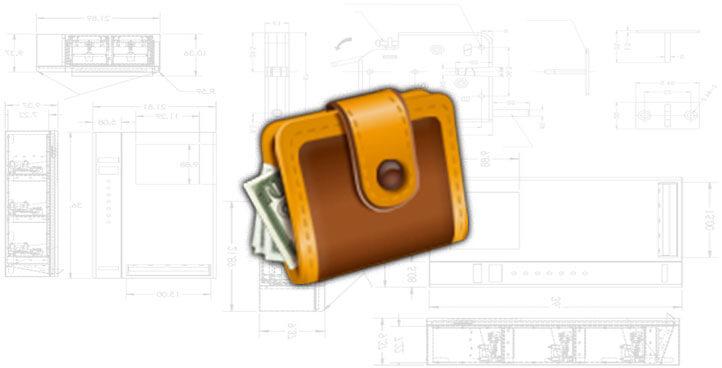 Bank Note Bill Dispenser
