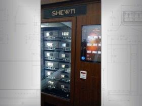Wine bottle vending machine