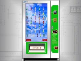 Smart bottle vending machine