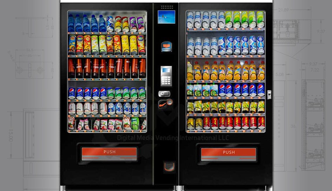 Can And Bottle Vending Machines Smart Beverage Vending