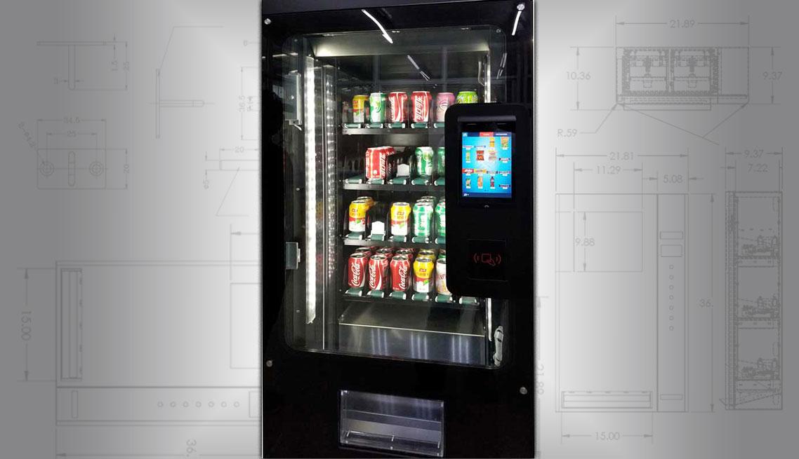 Can And Bottle Vending Machines Smart Beverage Vending