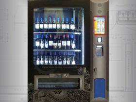 Alcohol Wine Vending Machine