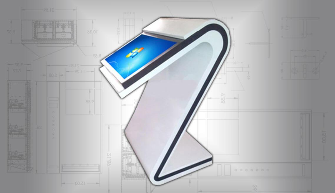 Concept Touchscreen Kiosk