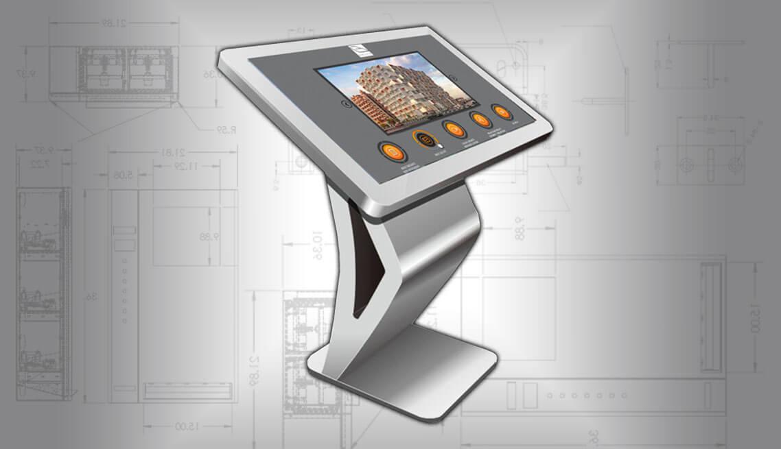 Concept Touchscreen Information Kiosk