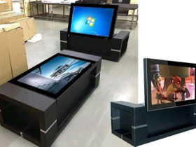 LCD Advertising Table