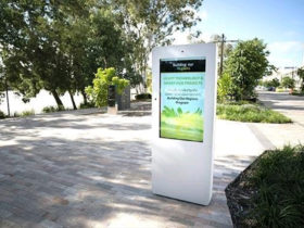 Outdoor LCD Advertising Kiosk