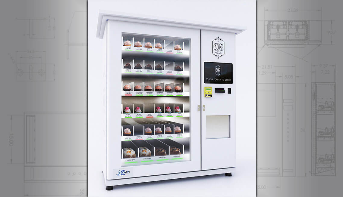 Cupcake Vending Machine Cake And Bakery Vending Machines