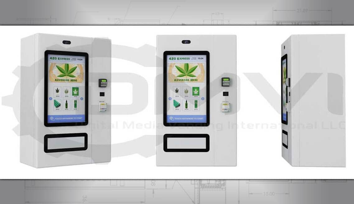 Touchscreen ECig Vending Machine