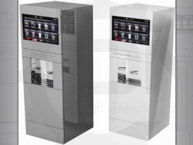 Luxury coffee vending machine