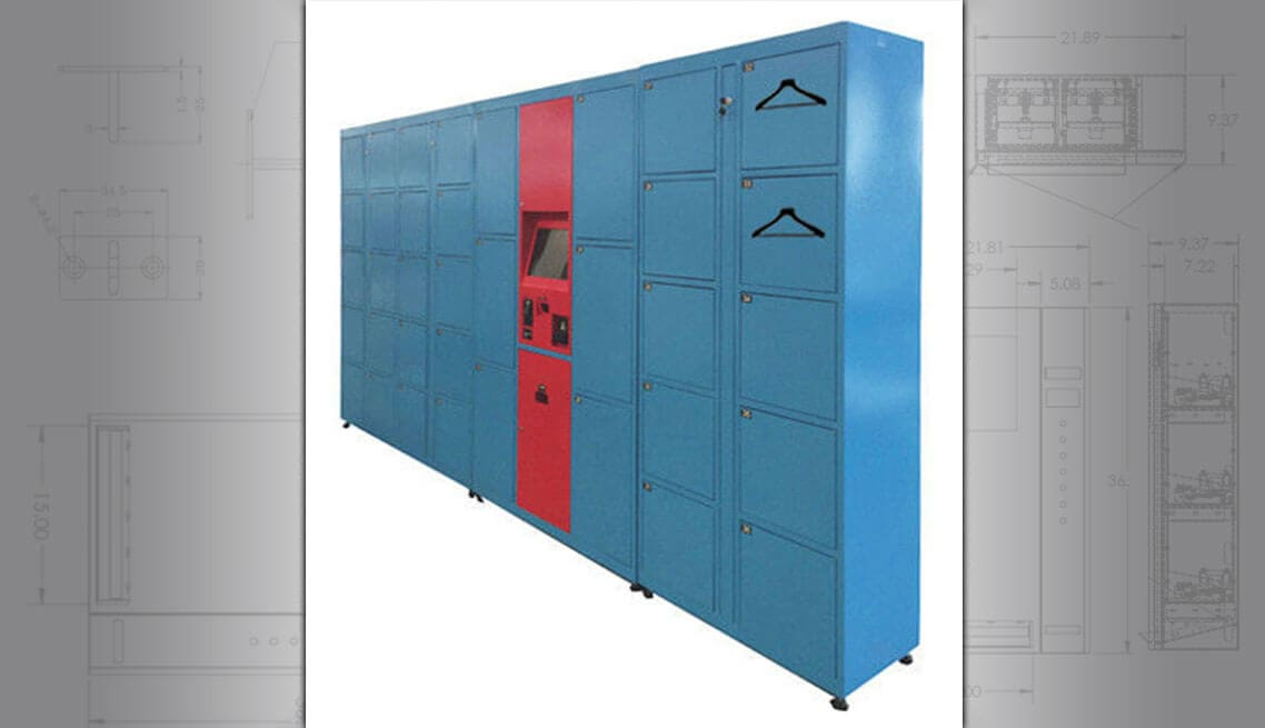 Automatic Dry Cleaning Lockers