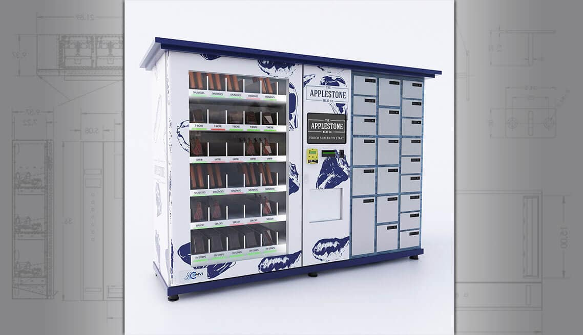 Locker Vending Machine