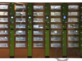 Refrigerated Locker Vending Machine