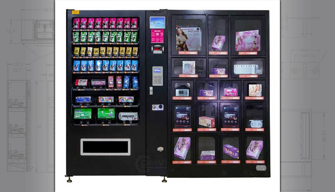 Locker Vending Machines Custom Vending Machine Design