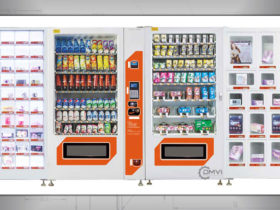 500 Capacity Locker Vending Machine