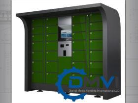 Custom Designed Locker Dispenser
