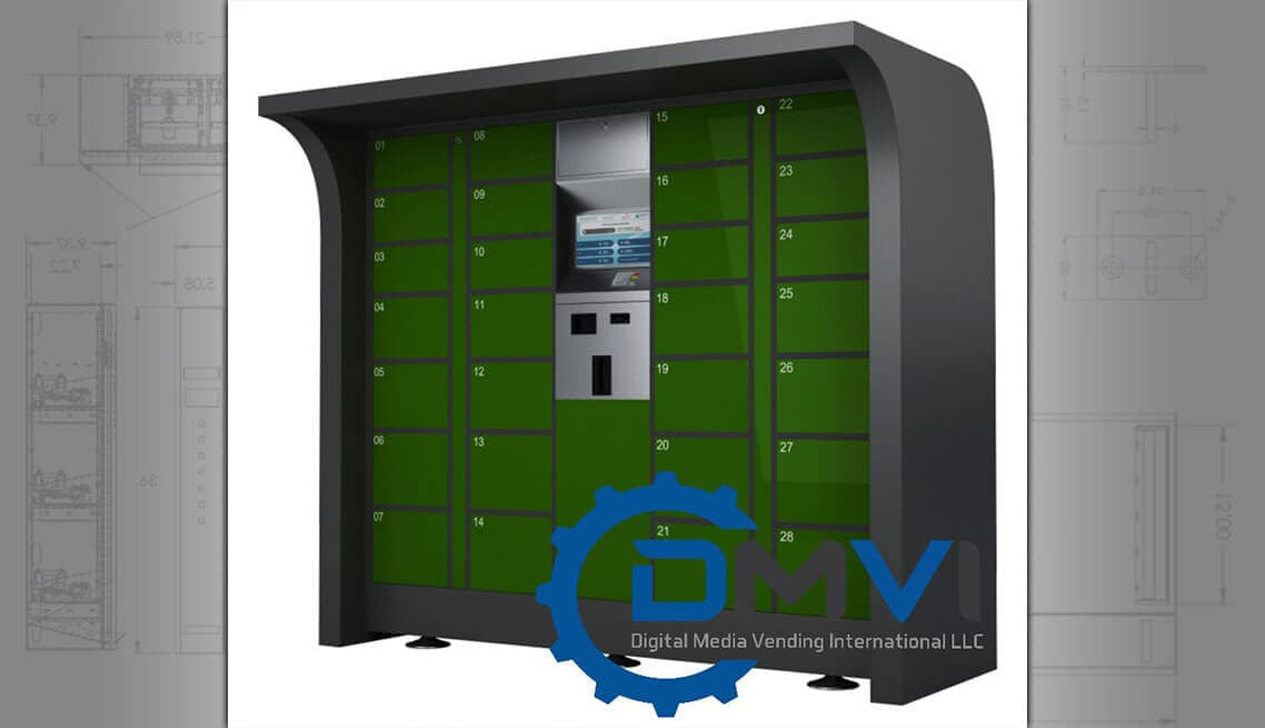 Custom Designed Locker Dispenser