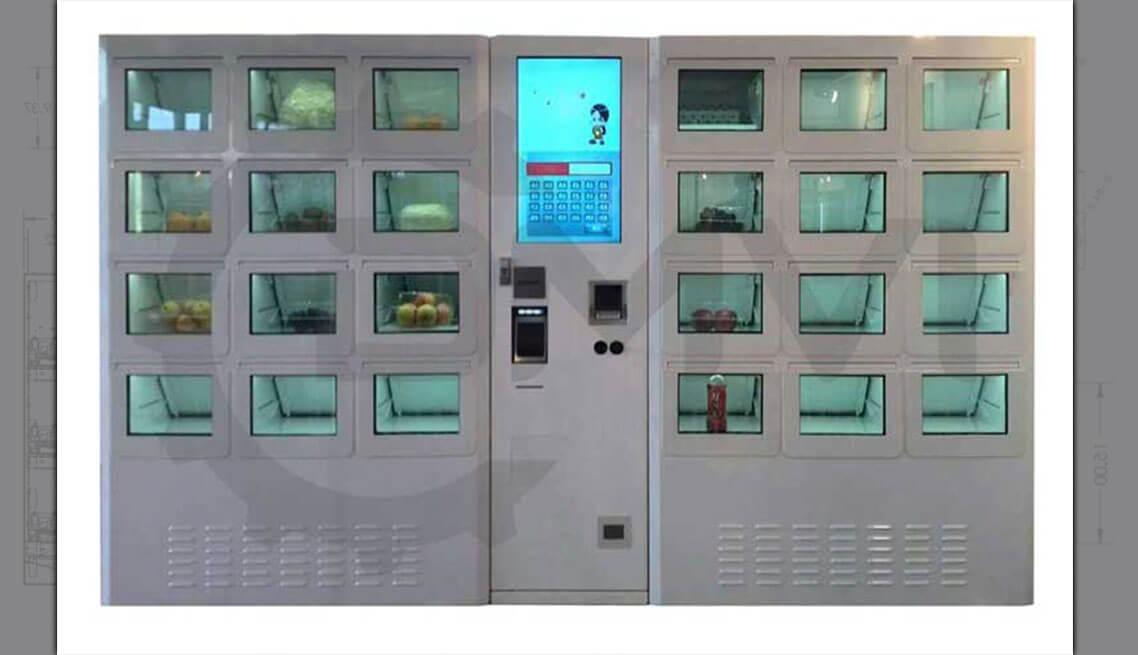 Refrigerated Retail Locker