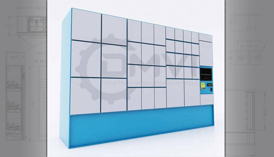 Custom Retail Locker Vending Machine