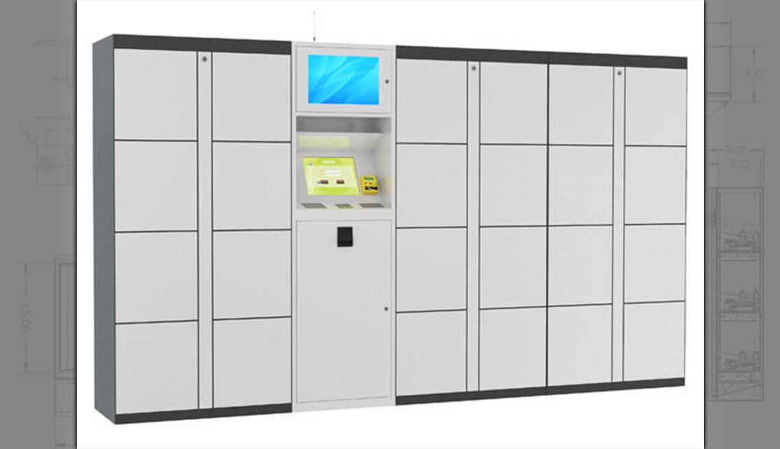 Electronic luggage Locker