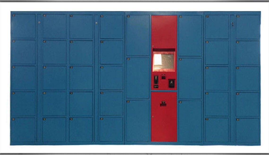 Luggage Lockers Custom Vending Machine Design And