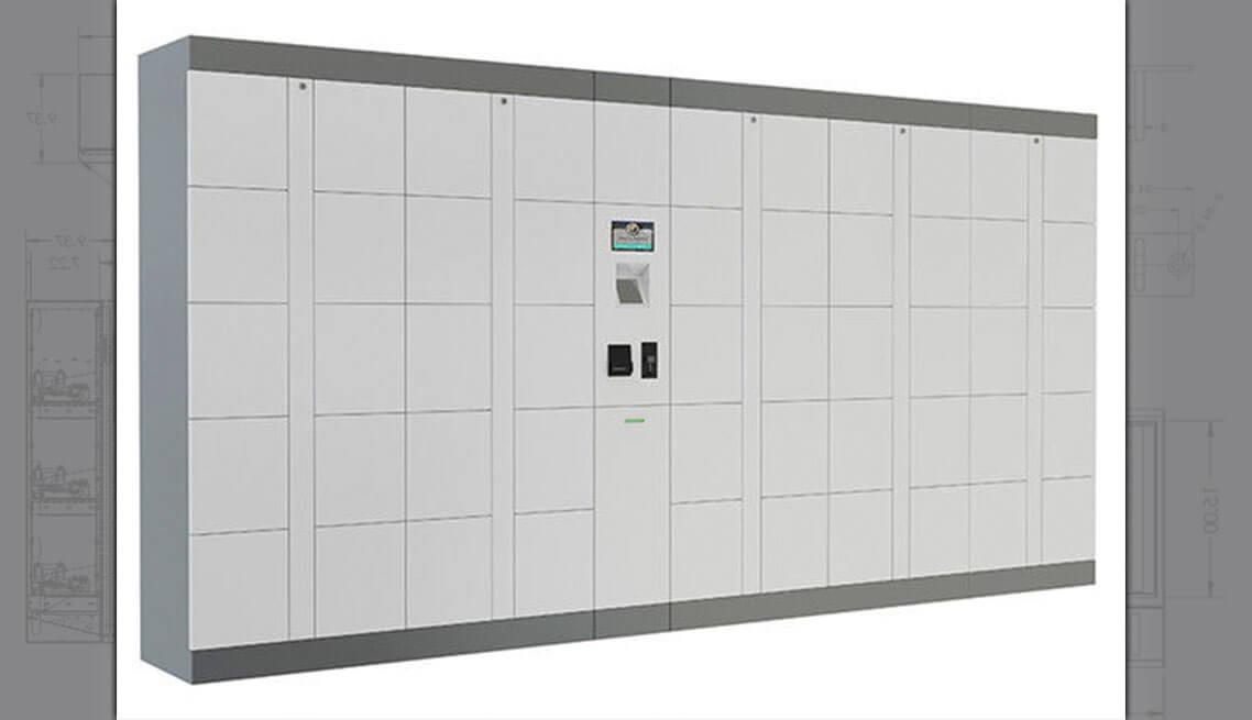 Parcel Delivery Locker System