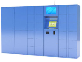 Touchscreen Parcel Delivery Lockers