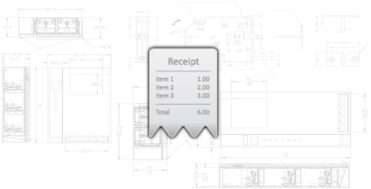 Printed or emailed payment receipt