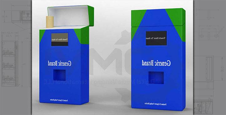 Electronic Cigarette Vending Machines