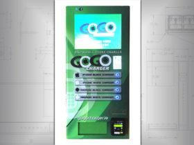 Phone battery vending machine