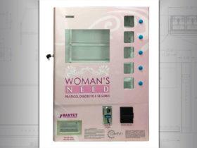 Female product vending machine