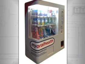 Dentist vending machine