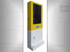 Compact vending machine