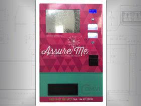 Custom wall vending machine
