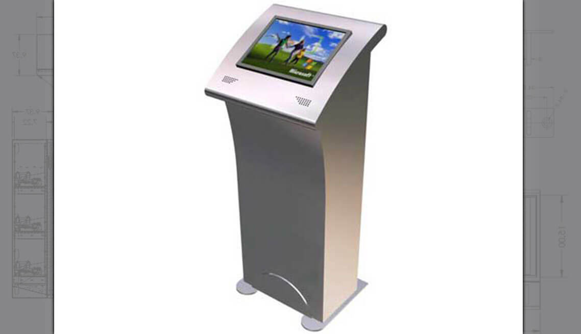 Touchscreen Information Kiosk