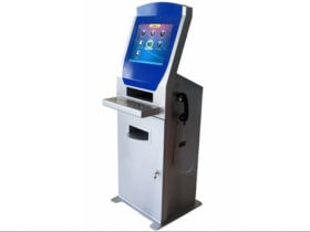 Internet Kiosk with Phone