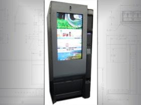 Retrofit old vending machine