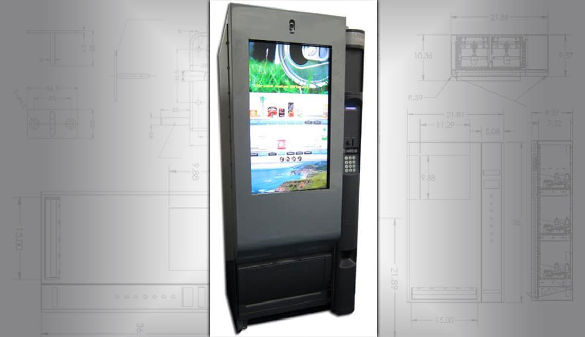 Retrofit old vending machine