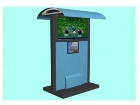 Sheltered LCD Digital Signage