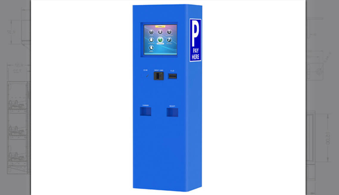 Waterproof Kiosks Custom Vending Machine Design And