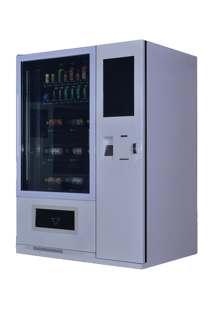 Soda and snack dispenser