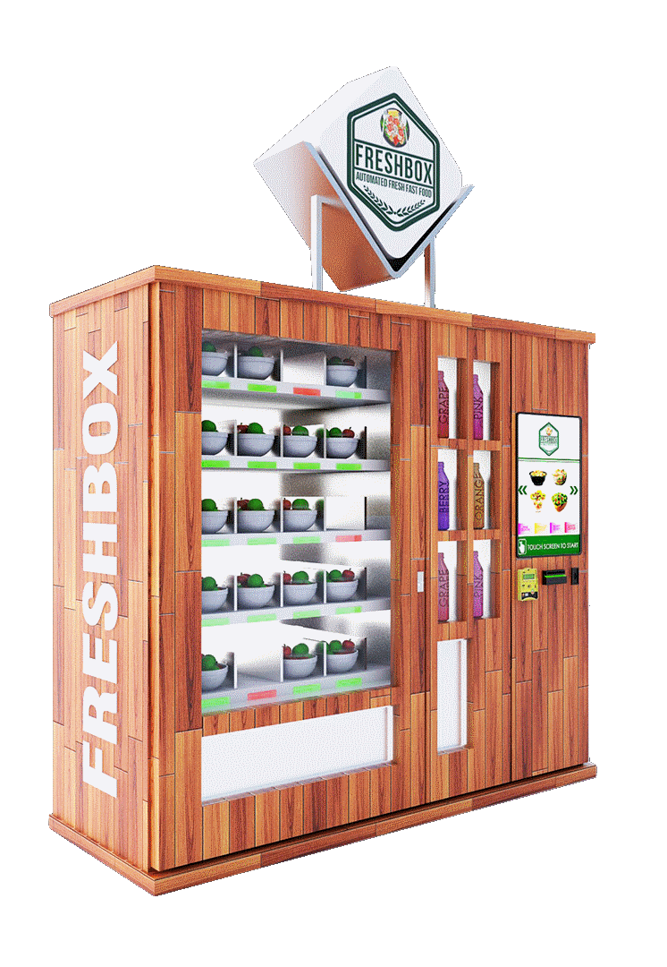 Custom Vending Machine Design And Manufacturing
