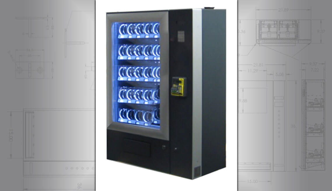 Wall Vending Machine