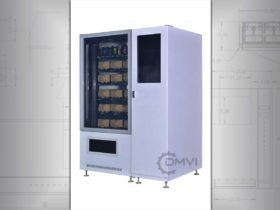 Smart conveyor belt vending machine
