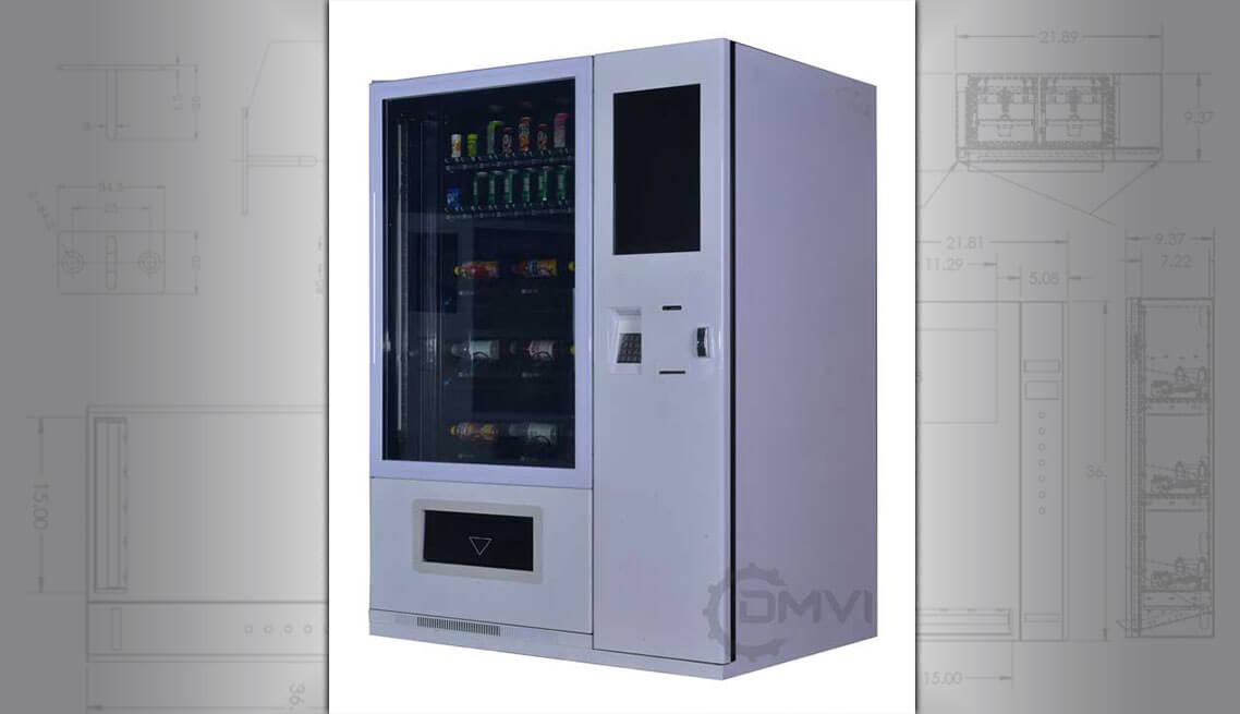 Smart elevator vending machine