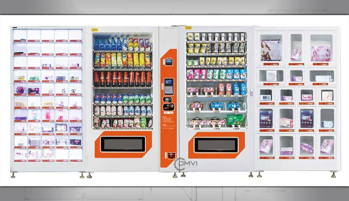 Vending machine locker