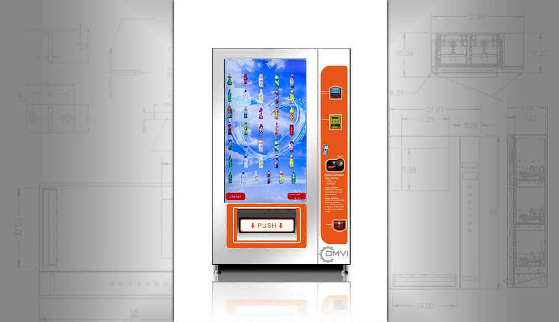 Intelligent bottle vending machine