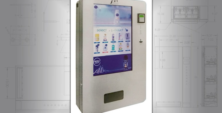 Wall-Mounted Vending Machines